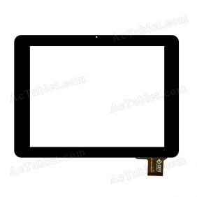 300-L3937A-B00-V1.0 Digitizer Glass Touch Screen Replacement for 8 Inch MID Tablet PC