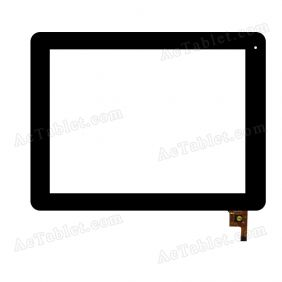 04-0970-0938 Digitizer Glass Touch Screen Replacement for 9.7 Inch MID Tablet PC