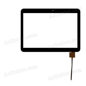 F-WGJ10154-V1 TGH Digitizer Glass Touch Screen Replacement for 10.1 Inch MID Tablet PC