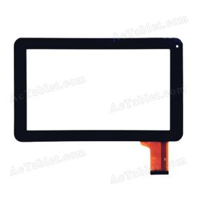 JQ90004FP-01 Digitizer Glass Touch Screen Replacement for 9 Inch MID Tablet PC