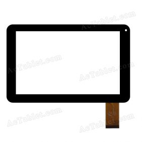 FPC-TP090025(98v)-00 Digitizer Glass Touch Screen Replacement for 9 Inch MID Tablet PC