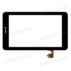 TPC-51120 v2.0 Digitizer Glass Touch Screen Replacement for 7 Inch MID Tablet PC