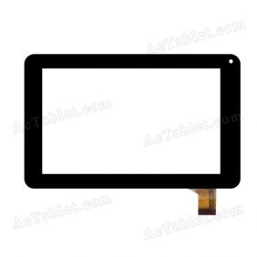ZJ-70039E Digitizer Glass Touch Screen Replacement for 7 Inch MID Tablet PC