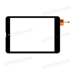YTG-G80014-F1 Digitizer Glass Touch Screen Replacement for 7.9 Inch MID Tablet PC