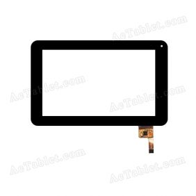 C186111G1-FPC732DR GT910 Digitizer Glass Touch Screen Replacement for 7 Inch MID Tablet PC