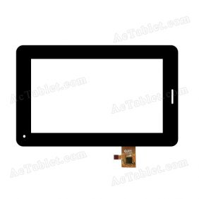 DPT 300-N4317A-B00-V1.0 Digitizer Glass Touch Screen Replacement for 7 Inch MID Tablet PC
