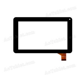 WJ331-V1.0 Digitizer Glass Touch Screen Replacement for 7 Inch MID Tablet PC