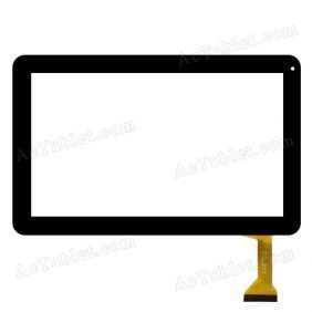 "Replacement DH-1007A1-FPC033-V3.0 (RX16*TX26) JA SR Digitizer Touch Screen for 10.1"" Tablet PC"