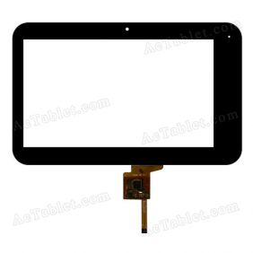070088-01A-V1 Digitizer Glass Touch Screen Replacement for 7 Inch MID Tablet PC
