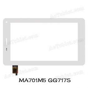 MA701M5 GG717S Digitizer Glass Touch Screen Replacement for 7 Inch MID Tablet PC