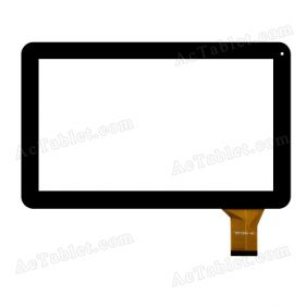 YDT1343-AO Digitizer Glass Touch Screen Replacement for 10.1 Inch MID Tablet PC