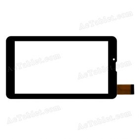 HJ006GG00A-FPC Digitizer Glass Touch Screen Replacement for 7 Inch MID Tablet PC