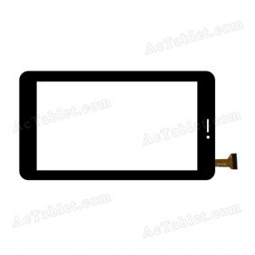 OPD-TPC0296 Digitizer Glass Touch Screen Replacement for 7 Inch MID Tablet PC