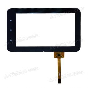 FPC-TP070026(E822)-01 Digitizer Glass Touch Screen Replacement for 7 Inch MID Tablet PC