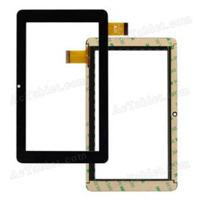 TPC-51072 V1.0 Digitizer Glass Touch Screen Replacement for 7 Inch MID Tablet PC
