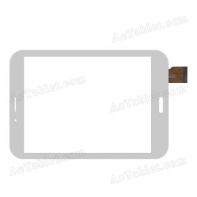 CTP07800B FPC-1.0 Digitizer Glass Touch Screen Replacement for 8 Inch MID Tablet PC