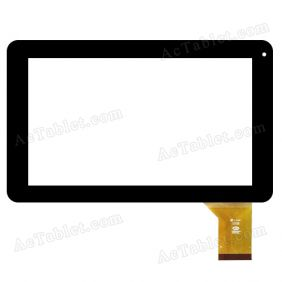 CTD FM901601KB Digitizer Glass Touch Screen Replacement for 9 Inch MID Tablet PC