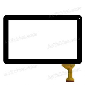 ZJ-10011A Digitizer Glass Touch Screen Replacement for 10.1 Inch MID Tablet PC