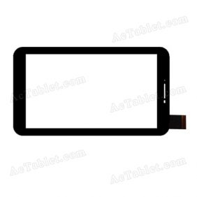 HS1280 V02S JHET Digitizer Glass Touch Screen Replacement for 7 Inch MID Tablet PC