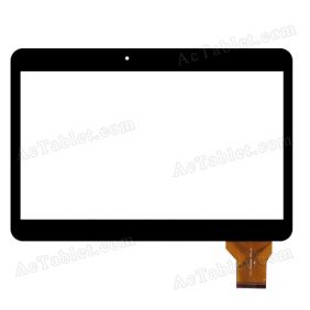 YLD-CEGA300-FPC-A1 Digitizer Glass Touch Screen Replacement for 10.1 Inch MID Tablet PC