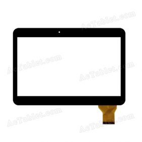 ZJ-10019A Digitizer Glass Touch Screen Replacement for 10.1 Inch MID Tablet PC