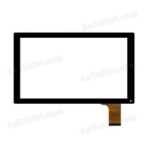 CZY6811BO1-FPC Digitizer Glass Touch Screen Replacement for 10.1 Inch MID Tablet PC