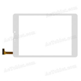 YDT-6201 Digitizer Glass Touch Screen Replacement for 7.9 Inch MID Tablet PC