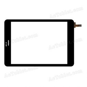 80701-0A4791C Digitizer Glass Touch Screen Replacement for 7.9 Inch MID Tablet PC