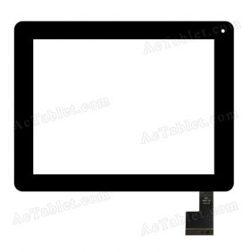QSD 8007-3 Digitizer Glass Touch Screen Replacement for 8 Inch MID Tablet PC