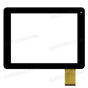 QSD E-C8030-01 Digitizer Glass Touch Screen Replacement for 8 Inch MID Tablet PC