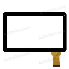 YTG-P10025-F1 Digitizer Glass Touch Screen Replacement for 10.1 Inch MID Tablet PC