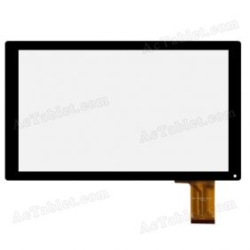 OLM-101AO181-PG ver.1 Digitizer Glass Touch Screen Replacement for 10.1 Inch MID Tablet PC