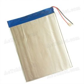 7000mAh Battery Replacement for iRulu X1004 X1005 ATM7021A Dual-Core 10.1 Inch Tablet PC