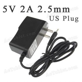 5V Power Supply Charger for NuVision TM1088 TM1088C Quad Core 10.1 Inch Tablet PC