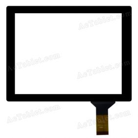 "HOTATOUH C144192A1-DRFPC047T-V1.0 Digitizer Glass Touch Screen Replacement for 8"" Tablet"