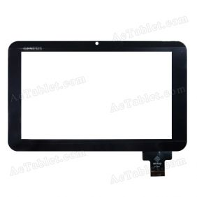 AT7044 Digitizer Glass Touch Screen Replacement for 7 Inch MID Tablet PC