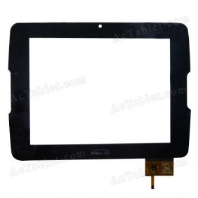 C157210A2-PG Digitizer Glass Touch Screen Replacement for 8 Inch MID Tablet PC