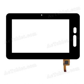 DR-F-07029 Digitizer Glass Touch Screen Replacement for 7 Inch MID Tablet PC