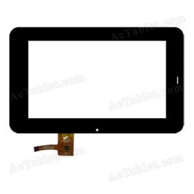 TCA-7028-V3.0 Digitizer Glass Touch Screen Replacement for 7 Inch MID Tablet PC