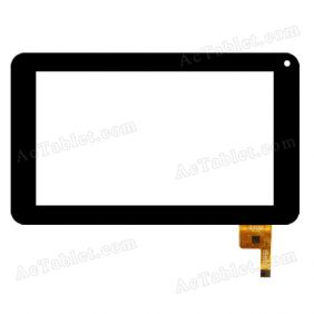 FPC-TP070072(DR1334)-01 Digitizer Glass Touch Screen Replacement for 7 Inch MID Tablet PC