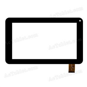 OPD-TPC0151 HD Digitizer Glass Touch Screen Replacement for 7 Inch MID Tablet PC