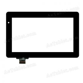 FPC-TP070258(YCG)-00 Digitizer Glass Touch Screen Replacement for 7 Inch MID Tablet PC