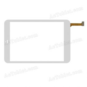 F-WGJ78051 V1 Digitizer Glass Touch Screen Replacement for 7.9 Inch MID Tablet PC