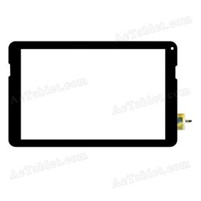DY-F-1017-V3 Digitizer Glass Touch Screen Replacement for 10.1 Inch MID Tablet PC