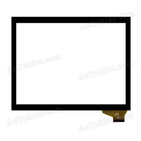 F0198 XH Digitizer Glass Touch Screen Replacement for 8 Inch MID Tablet PC