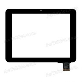 C149199A1 DRFPC137T-V1.0 Digitizer Glass Touch Screen Replacement for 7 Inch MID Tablet PC