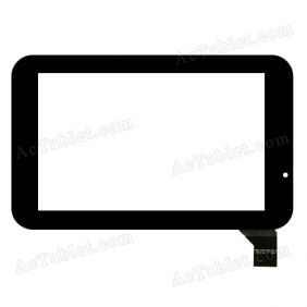 FPCA-CTP-0700-057-2 Digitizer Glass Touch Screen Replacement for 7 Inch MID Tablet PC