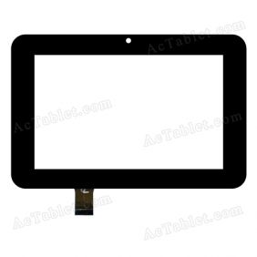 F0281 YF  Digitizer Glass Touch Screen Replacement for 7 Inch MID Tablet PC
