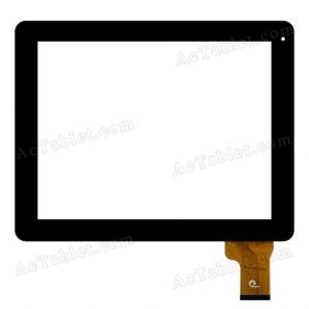 F0595 0678-V10-0722 Digitizer Glass Touch Screen Replacement for 9.7 Inch MID Tablet PC