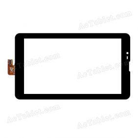 OPD-TPC345 FPC Digitizer Glass Touch Screen Replacement for 7 Inch MID Tablet PC